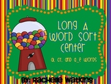 Long /a/ Literacy Center Word Sort: ay, ai, a_e