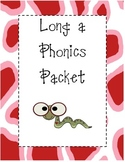 Long a Phonics Packet
