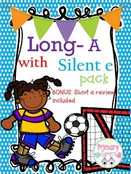 Long a--Short a vowel word work