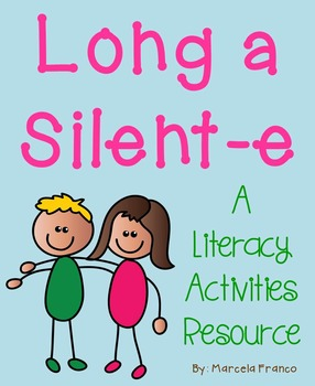 Long a Silent-e Literacy Activities