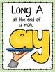 Word Work: Digraphs - Long A - AI, AY