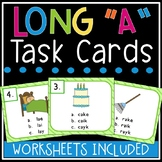 Long a Task Cards (silent e, ai, ay)