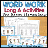 Phonics for Older Students - Long A Task Cards (Plus Digital Boom Cards)