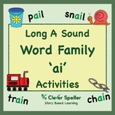 Long a Vowel Sound Word Family 'ai' Spelling Bundle