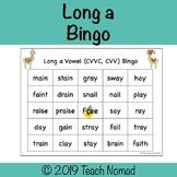 Long a Vowel Team Bingo (CVVC, CVV)