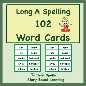 Long a Word Cards