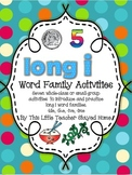Long i Word Family Activities