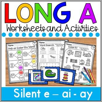 Long a Worksheets