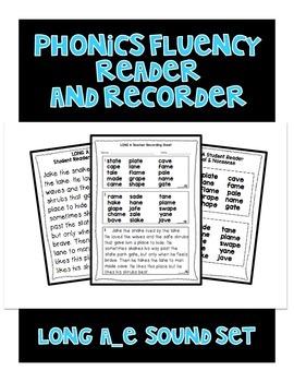 Long a (a_e) - Phonics Fluency Assessment