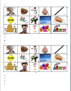 Long a and i Word Sort