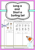 Long a and short a Sorting Sets