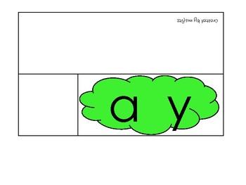 Long a (ay) Word Tents