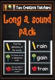 Long 'a' sound