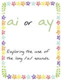 Long /a/ vowel sound