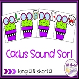 Long a with Silent e and Short a Vowel Sort
