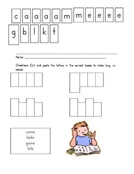 Long Vowel a word building