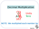 Long multiplication and decimal multiplication step by step