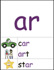 Phonics Word Wall: Long and R-Controlled Vowels