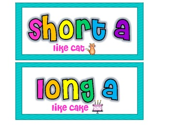 Long and Short A