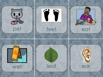 Long and Short E Vowel Word Sort Center Activity