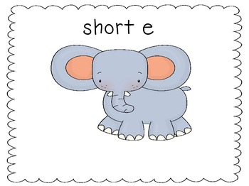 Long and Short E Word Sort (CVC and CVCe)