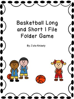 Long and Short I File folder game