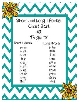Long and Short I Pocket Sort #3