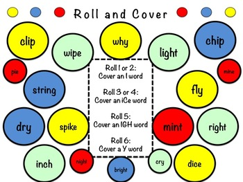 Long and Short I Word Study Sort and Activities (I, iCe, IGH & Y)
