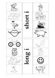 Long and Short I interactive notebook