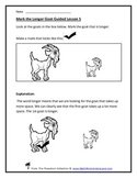 Long and Short (Measuring Distance) Teacher Worksheet Pack