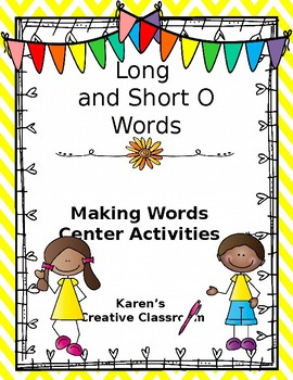 Long and Short O Center Time Activities
