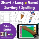 Long and Short O Vowel Activities
