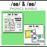 Long and Short OO Phonics Activities Bundle
