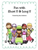 Long and Short U Response Cards