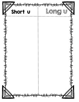 Long and Short U Sort