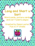 Long and Short U Sort {word work}