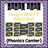 Long and Short U Vowel Sorting Center