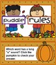 Long and Short Vowel Activity Autumn Theme