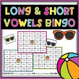 Long and Short Vowel BINGO