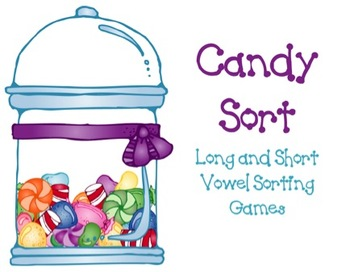 Long and Short Vowel Candy Sort