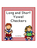 Long and Short Vowel Checkers Game