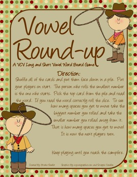 Long and Short Vowel Combo Pack