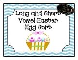 Long and Short Vowel Easter Sort