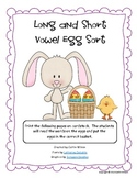 Long and Short Vowel Egg Sort
