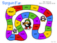 Long and Short Vowel Penguin Word Game Boards