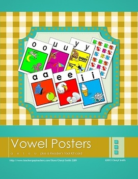 Long and Short Vowel Posters