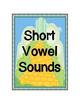 Long and Short Vowel Posters - Oz Theme - Version 2