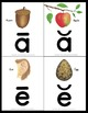 Long and Short Vowel Posters and Flash Cards Print