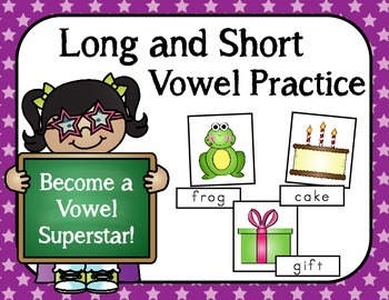Long and Short Vowel Practice