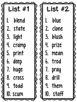 RTI: Long and Short Vowel Progress Monitoing